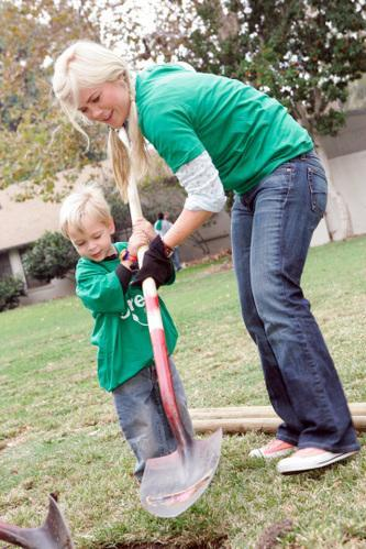 Alison Sweeney and Son