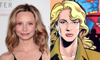Supergirl Scoops Calista Flockhart in Key Role