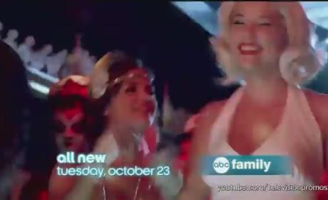 Pretty Little Liars Halloween Episode: All Aboard the A Train!