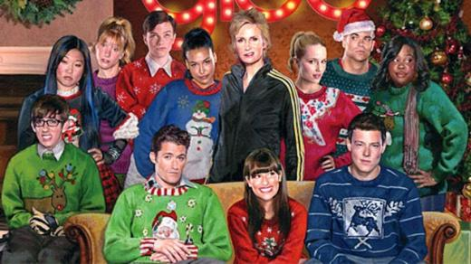 Glee Christmas Card