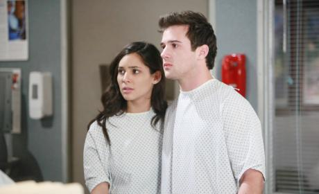 Gabi and JJ Are Ill - Days of Our Lives