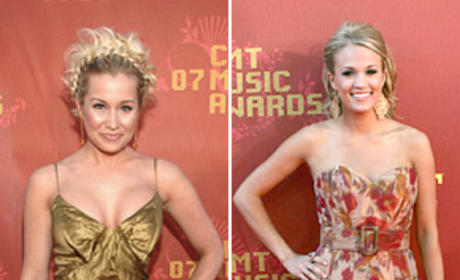 American Idol Fashion Face-Off: Carrie Underwood vs. Kellie Pickler