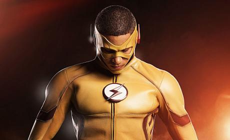 Powerful Kid Flash - The Flash