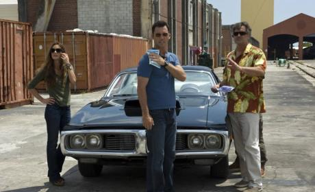 "Burn Notice Photos from ""Friends and Family"""