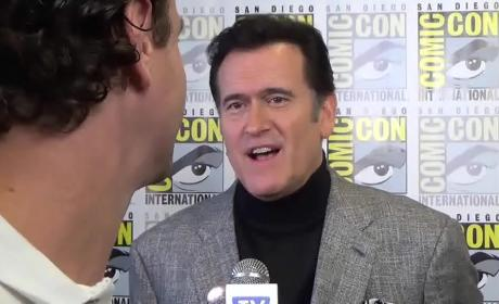 Bruce Campbell Previews Ash vs. Evil Dead
