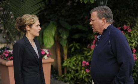 William Shatner on Psych