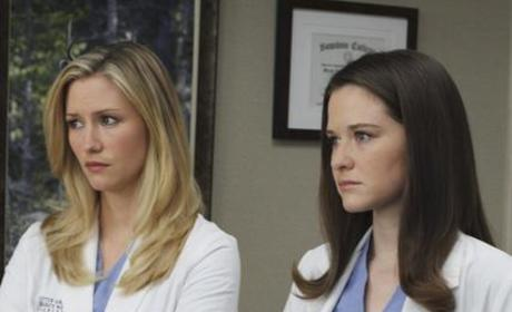 Grey's Anatomy Scoop on April, Mark and a Fiery Finale
