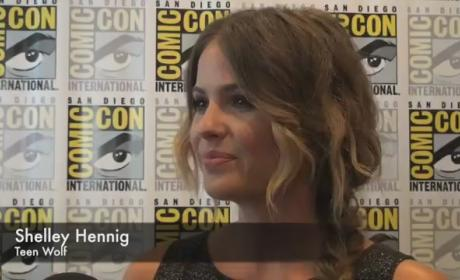 Shelley Hennig Comic-Con Interview