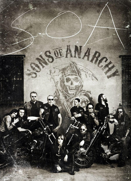 Sons of Anarchy Season 4 Poster