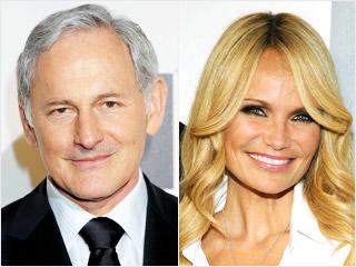 Kristin Chenoweth and Victor Garber