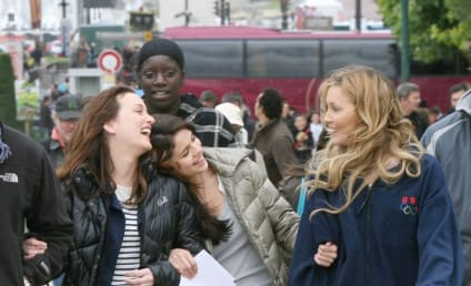 Leighton Meester Films, Laughs With Co-Stars