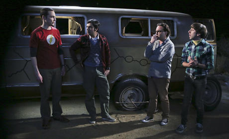 The Flat Tire Incident - The Big Bang Theory
