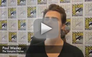 Paul Wesley Comic-Con Q&A