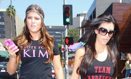 Khloe Kardashian, Kim Kardashian Kount on Each Other