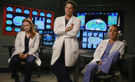 April, Alex, and Jo - Grey's Anatomy Season 11 Episode 20