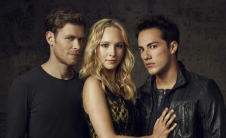 Klaus, Tyler and Caroline