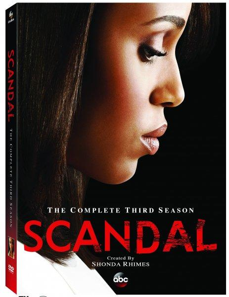 Scandal Season 3 DVD