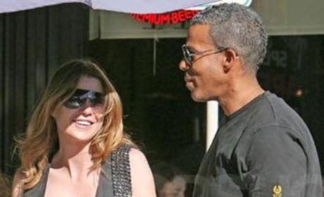 Ellen Pompeo, Chris Ivery Back in L.A.