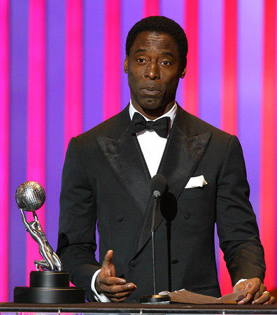 Isaiah Washington at NAACP