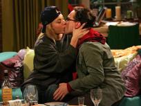 Penny and Leonard Kiss!