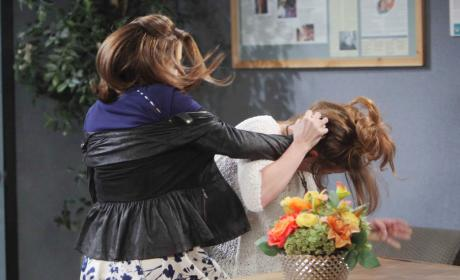 Catfight! - Days of Our Lives
