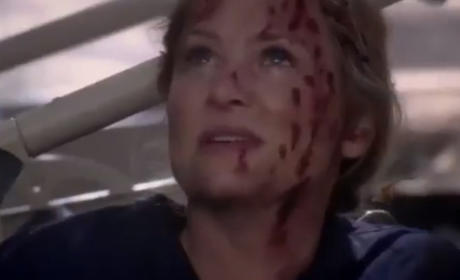 Grey's Anatomy Burning Question: Who's on the Gurney?