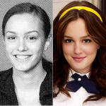 Leighton Meester Yearbook Photo