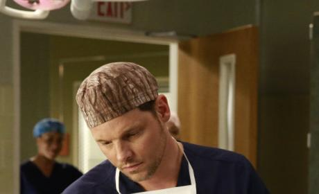 Encouraging Words - Grey's Anatomy Season 12 Episode 10