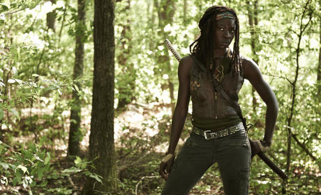 Danai Gurira in The Walking Dead
