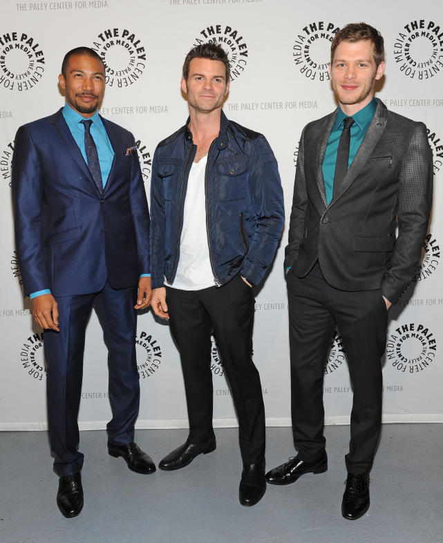Charles Michael Davis, Daniel Gillies and Joseph Morgan