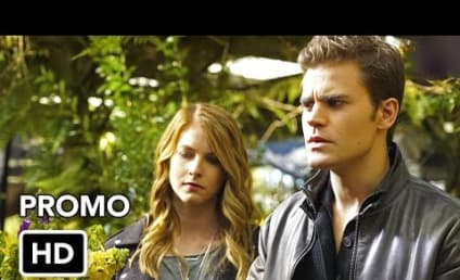 The Vampire Diaries Promo: Will Damon Really Leave?!?