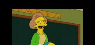 Edna Krabappel Montage: HA!
