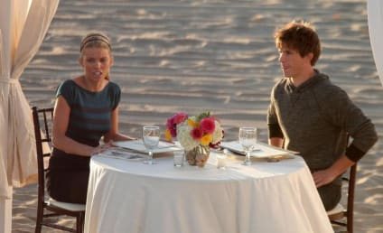 90210 Set Pics Reveal Naomi and Liam Romance