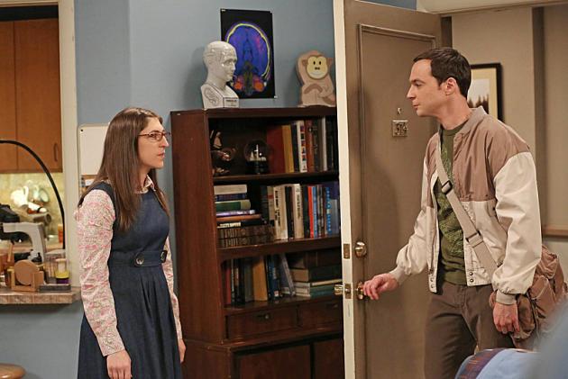 Sheldon Visit Amy's Place