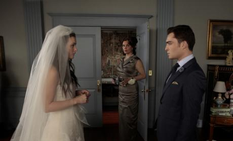 Chuck and Blair on Her Wedding Day