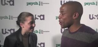 Psych Video Exclusive: Dule Hill on Twitter, Season 6