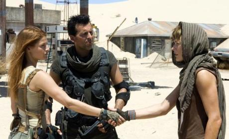 Ali Larter in Resident Evil: Extinction