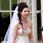 Michelle Trachtenberg, Wedding Dress