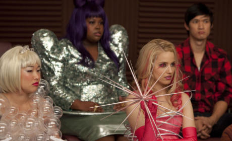 Glee Goes Gaga: A Song, Costume Preview