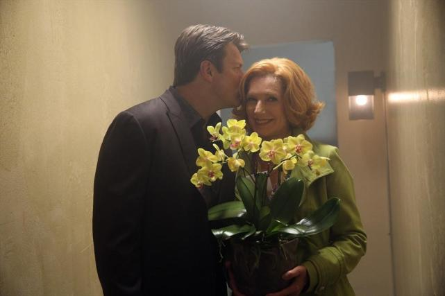 A Sweet Moment Behind the Scenes - Castle Season 6 Episode 6
