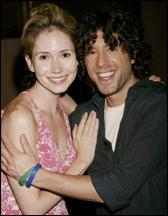 Ashley Jones and Elliott Yamin