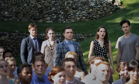 Gossip Girl Season Premiere Pics: This is a Wedding!