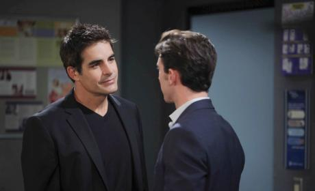 Rafe Confronts Chad - Days of Our Lives