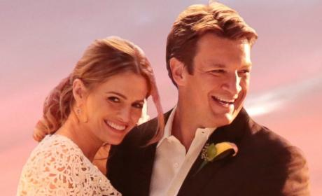 Caskett Wedding Photo - Castle Season 7 Episode 6