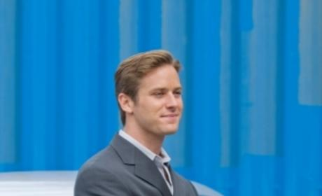 Armie Hammer as Morgan