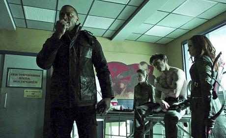 Oh No! - Arrow Season 3 Episode 17