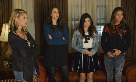 At Mona's - Pretty Little Liars Season 5 Episode 12