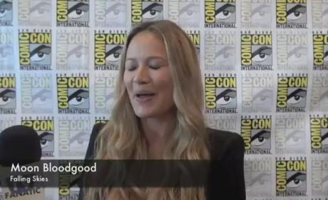 Moon Bloodgood Comic-Con Interview