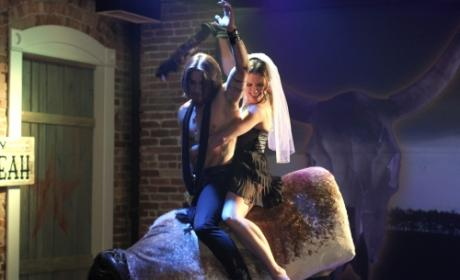 One Tree Hill Bachelorette Party Pics: Bull Riding with Dave Navarro!