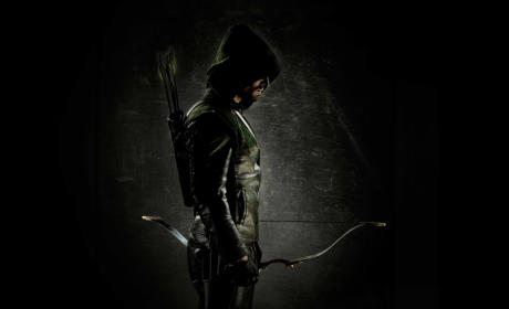 Stephen Amell as The Green Arrow: First Look!